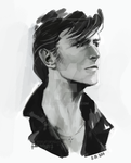 david bowie by gaerss