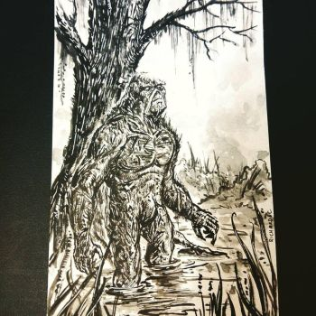 Swampthing by richard-chin