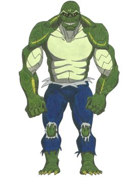Killer Croc by ShayneMurphy
