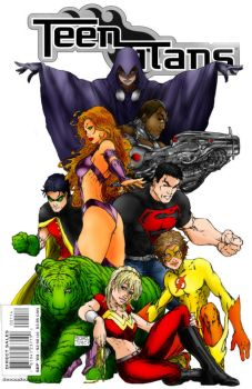 Teen Titans by silversky