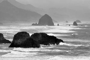 Oregon Coast by Hysazu