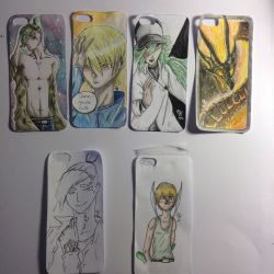 Mobile phone cases by Kyu-Staff