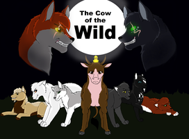 Cow of the Wild poster Gift by Shadow-at-Nightfall