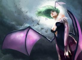 Morrigan by chitobein