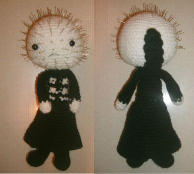 Pinhead unfinished by adorablestejidos