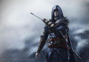 Ezio Auditore. Assassin's creed Revelations by Renegat159