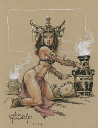 Dejah Thoris on Ebay by rattlesnapper
