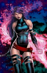 Psylocke2015 Colors by hanzozuken