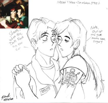S:AAB - Nathan and Shane (Domon and Rain Style) 1 by BlueWolfRanger95