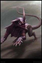 Ardhamma Creature Concept - Poster by Cloister