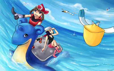 Pokemon: Surf by Sangcoon
