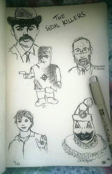 The serien killers by Yourmajestysart