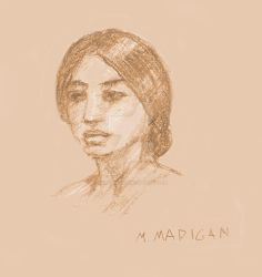 Sketch_Girl by marypmadigan