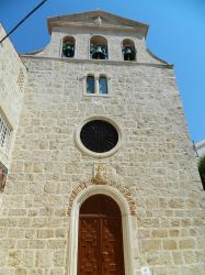 17-08-2013 Pag, Croatia, Church of St. Marguerite by Dunkel17