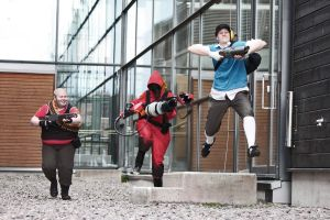 tf2 - Tiny man can fly by Nemodes
