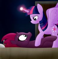 Tempest's first friendship lesson by Sutekh94