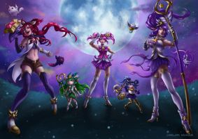 League of Legends: Star Guardians by CharlottaBavholm