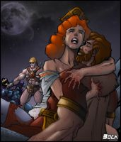 The Death of Randor by MikeBock