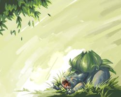 Pkmn: Bulbasaur Wallpaper by Serain