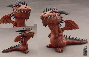 Volcan Dragon by buzhandmade