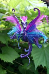 Feathered Pixie Dragon 2 by LilacGrove