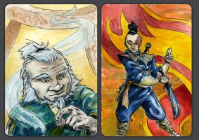 Avatar ACEO Set II by evanjensen