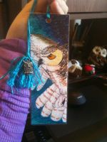 Owl Custom Bookmark by LadyDistort