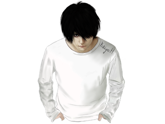 L Lawliet Realistic [Death Note] by KaiyoHikari