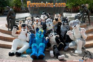 Official EuroFurence Fursuiting.com Group Photo by FotoFurNL