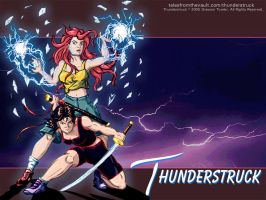 Thunderstruck SistersWallpaper by Thunderstruckcomic