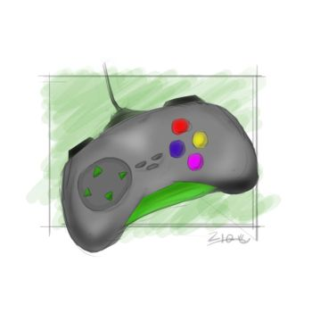 Quick Sketch - Controller by haziq143