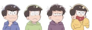 Matsuno Brothers by GonkhNation