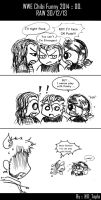 WWE Chibi Funny 2014 :: 00 by Tapla
