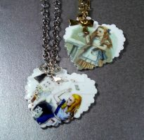 Classic Alice Necklaces by FatallyFeminine