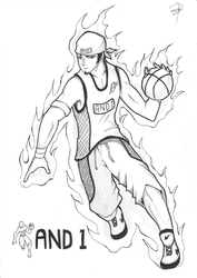 And1 fanart by omegagroudon