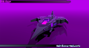 3D art work of my KG-Kage ship. by Net-Zone-Network