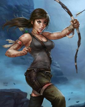 Tomb Raider: Reborn by dandonfuga