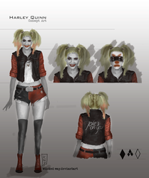 Harley Quinn Concept by wiicked-way
