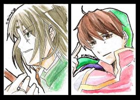 2009 ACEO Suikoden Cards by shunjin