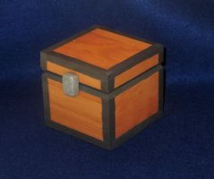 Minecraft Small Chest by zynwolf