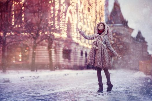 snow in Moscow by Snowfall-lullaby
