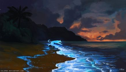 Firefly Waves by kalambo