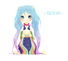 Arcade Sona by pocketplanets