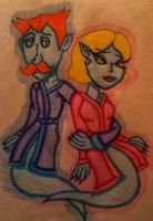 Neville and Lyida by 932-2063