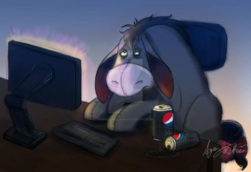 Eeyore Commission 2 by Mad--Munchkin