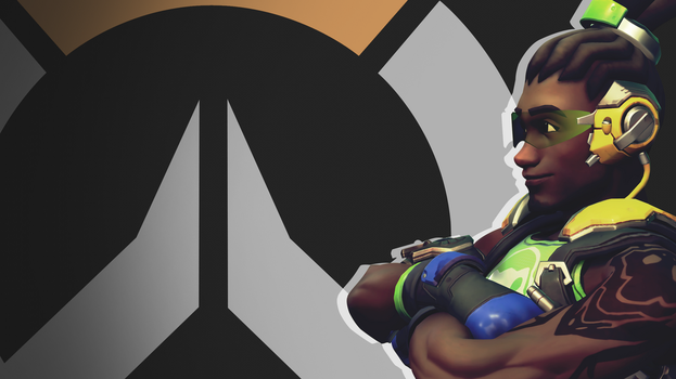 Overwatch Side Profile Wallpaper - Lucio by PT-Desu