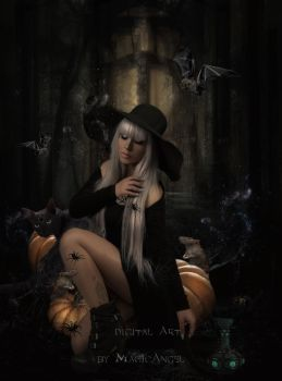 Halloween Witch by MagicAngel8773