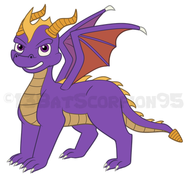Spyro by 13BatScorpion95