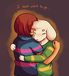 Undertale: I don't want to go... by Southrobin
