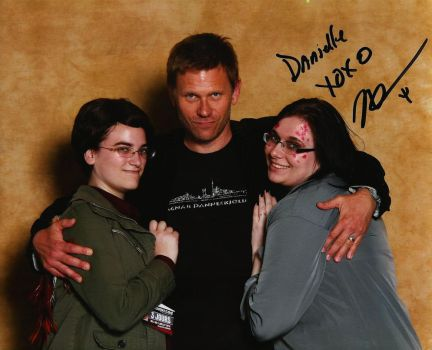 My girlfriend, Mark Pellegrino and Me by DannyPling